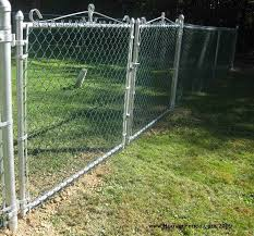 chain link fence double gate. Double Chain Link Fence Gates Gate