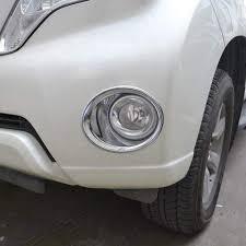 2015 Subaru Crosstrek Abs Light Amazon Com Abs Chrome Front Fog Light Lamp Cover Trim For