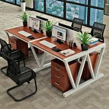 simple office desks staff office desk 4 person computer desk and chair combination simple office furniture