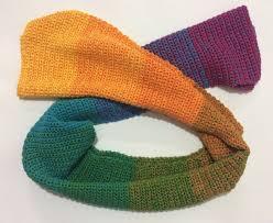 Resultado de imagem para croche lã gola colorida mercado livre