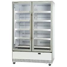 fridge 2 door glass display 840 ltr