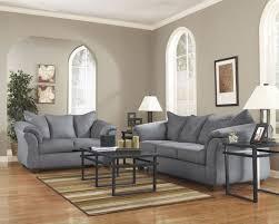 darcy steel sofa loveseat set