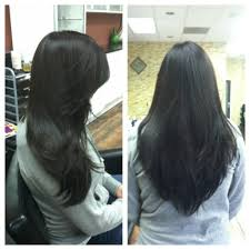 V Hairstyle long layered v shaped haircut popular long hairstyle idea 5385 by wearticles.com