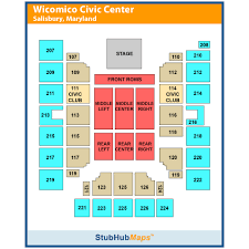 Wicomico Civic Center Events And Concerts In Salisbury