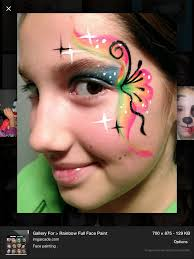 Small Picture 46 best Face Paint Rainbow Designs images on Pinterest Face