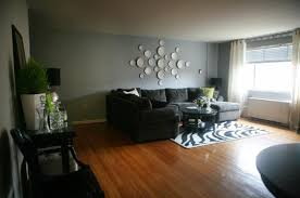 living room with black furniture. Room Paint Ideas Black Furniture Dark Gray Green Colors Home Art Living With V