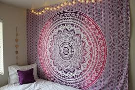 Charming View In Gallery Boho Tapestry Wall Covering In Bedroom 900x600 15 Wall  Covering Ideas To Fall In Love With