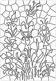 Christmas Stained Glass Patterns Interesting Design