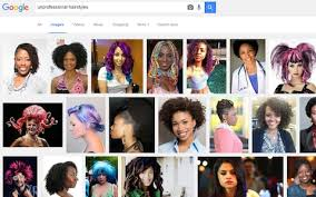 Unprofessional Hairstyles 1 Best Google Under Fire Over 'racist' Image Search Results For