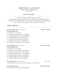Ladders 2019 Resume Guide Professional Resume Templates