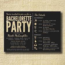 Bachelorette Party Invitation Ideas Homemade Luxury Invites Online