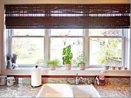 kitchen sink window treatment ideas height