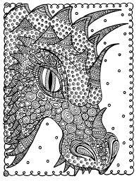 Draak Kleur Instant Download Kleur Pagina Fantasy Art Kleur Etsy