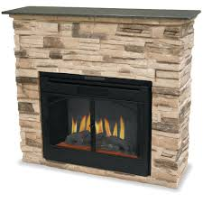 faux stone electric fireplace mantel fireplaces for look with electric stone fireplace