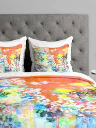 bright duvet covers on gilt