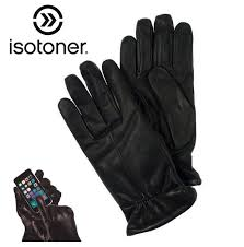 isotoner genuine leather smartouch gloves select men s or women s ships free