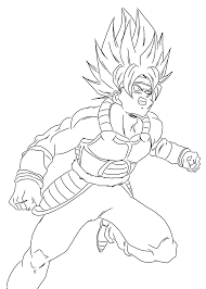 Kai Dragon Ball Z Anime Coloring Pages For Kids Printable Free