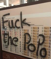 Image result for hong kong legco graffiti