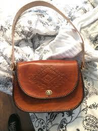 tandy revival handbag purse with navajo pattern