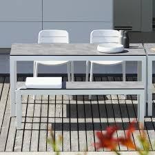 Jan Kurtz Quadrat Tisch Gestell Weiß