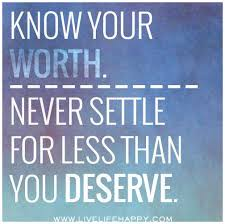 Never Settle Quotes
