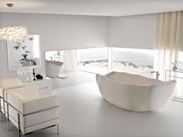 white stone freestanding tub