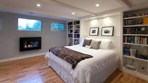 Electric Fireplace In Master Bedroom Floating Fireplace Bedroom  Contemporary With Ceiling Lighting Bookshelves Electric Fireplace Master