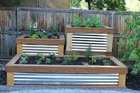 raised herb garden