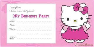 Printable Hello Kitty Invitations Personalized Hello Kitty Invitations Free Printable Templates