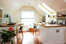 attic office ideas. attic rooms - 11 different conversion ideas: #2 a quiet place to work office ideas