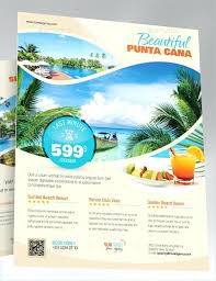 Travel Flyer Template Pamphlet Brochure Psd Thestunt Co