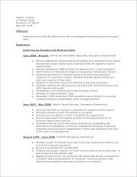 Sample Rn Resume New Ed Rn Resume Examples Packed With Hospital Volunteer Resumes To