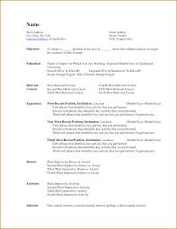 Aerospace Medical Service Apprentice Sample Resume Minimalist Resume Templates Microsoft Word 24 Escritorio 3