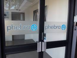 phebra etch dusted glass and vinyl door signs