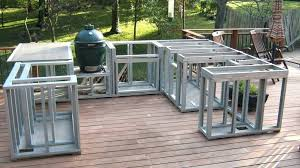 how to build outdoor kitchen build your own outdoor kitchen frame