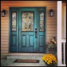 turquoise front doorPopular colors to paint an entry door  Fire engine Front doors