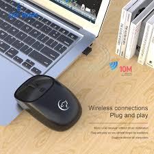 <b>G850 Mouse Wireless</b> 2.4GHz <b>2400DPI</b> Rechargeable untuk Kantor ...