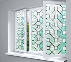 stick on stained glass window high quality printed static cling window stained glass paper
