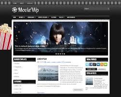 Horror Website Templates Free Download 30 Best Cinema Blogger