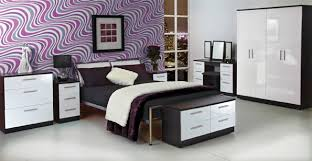 bedroom furniture black and white. Black And White Bedroom Furniture Gloss D