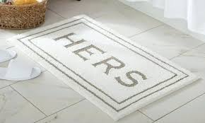 mohawk bathroom rugs home bath mat goods his and hers bathroom rugs mohawk cotton bath rugs