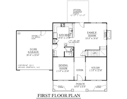 hous plan. House Plan 1883 HARTWELL First Floor Hous U