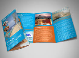 Cruise Ship Brochure Templates Cruise Ship Vacation Brochure ...