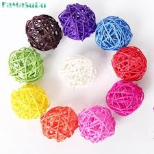 Decorative Cane Balls Best Decorative Cane Balls Custom 32322Pcs 322 32Cm Rattan Wicker Cane Ball For