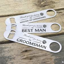 engraved stainless steel bottle opener thank you bridal party wedding gift jpg
