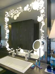 best lighting for makeup vanity. Makeup Mirror Lighting. White Stained Wooden Vanity Table With Lights Lighting I Best For R