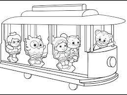 Daniel Tiger Coloring Pages With Free Tiger Coloring Pages To
