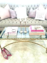 pink coffee table pink coffee table chic minimalist and gold display with focal candlesticks hot pink pink coffee table