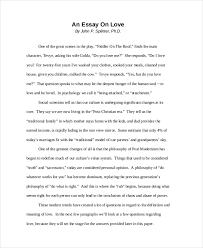 Love Essay Example Magdalene Project Org