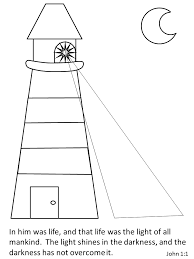 Small Picture Jesus Color Lighthouse Bible Coloring Pages For Later 02